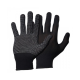 Manusi protectia muncii subtiri din material textil cu buline din cauciuc aderente