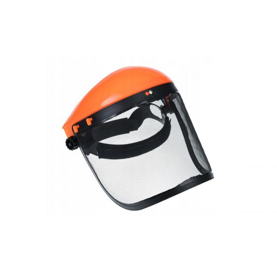 Masca protectie motocoasa cu viziera din plasa