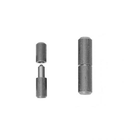 Balama sudabila cu bila D22, din otel pentru porti si usi metalice, lungime 115 mm, diametru 22 mm