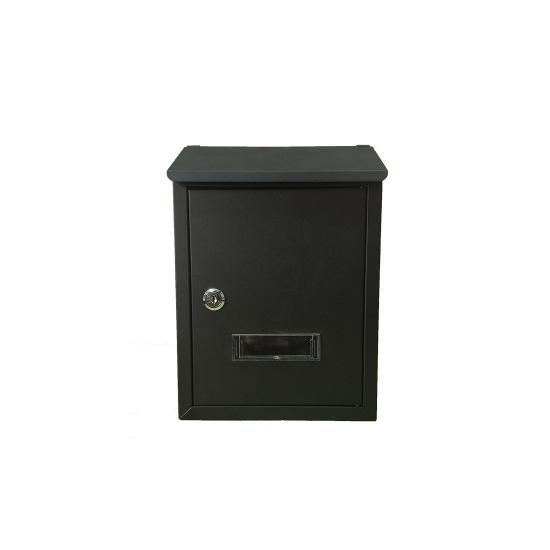 Cutie postala pentru exterior din aluminiu culoare negru, 300x210x70 mm